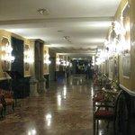 Impressive hotel lobby