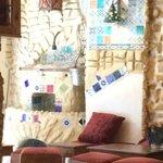 Arabic coffe in Medina - interior