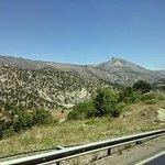 Breathtaking views of Taurus mountains in our way through Adyaman