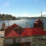A beautiful hot day in Oban.