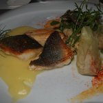 Sea Bass with Fennel