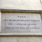 Michaelangelo lived next door to Hotel.
