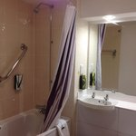 Bathroom in Room 510 - great size for city centre budget hotel