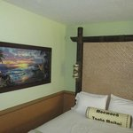 A nice painting in our room next to one of the queen beds