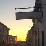 Sunset on Almohalla