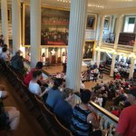 Faneuil Hall, reading of the Declaration of Independence