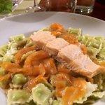 Ravioli de saumon frais
