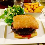 Burger au steak haché fait maison