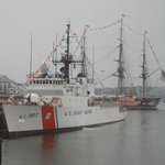 USS Constitution saluting Coast Guard-July 4th