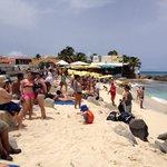 Busy little beach!