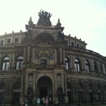 Front of Semper opera house
