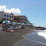 hotel dalla spiaggia