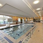 Our indoor salt water pool with Kids Play Area