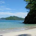 uninhabited beach by Tortuga island