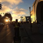 Segway sunset tour. This was on The Embarcadero SF.