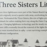 The Three Sisters Lighthouses