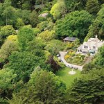 Aerial view of Glenfalloch's 30 acre property