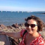 Sun, sea and sailing, Abbey Sands, Torquay