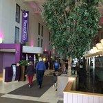 Lobby Entering from Bath Road