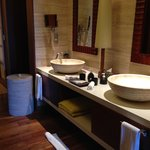 Gorgeous bathroom his&her