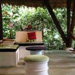 Reception Area @ La Kukula Lodge