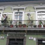 Lindo balcon en el centro historico