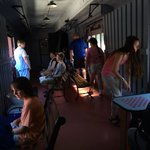 Baggage car - rented out for parties