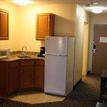King Suite kitchenette