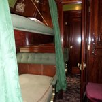 Inside restored Pullman Car
