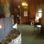 Inside the tavern lounge