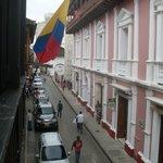 Desde el balcon del hotel