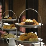 Serving Afternoon Tea at the Holiday Inn London Gatwick Worth