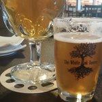 New Belgium Pluot and Nebraska Brewing Company Aged Hop God