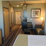 Inside King Bed Suite