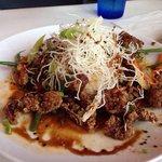 Garlic Sambal beef-$12 lunch special