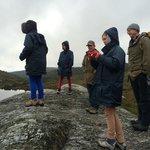 Dove Lake walk 6km walk with guide John.