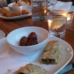 Pork meatballs and Beef sausage in phyllo pastry 5-Stars
