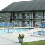 anex and outdoor pool of hotel