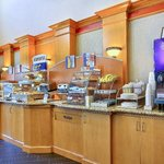 Hot Breakfast Holiday Inn Express Boise West MeridianBreakfast Bar