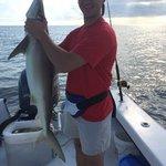 Craig's first shark