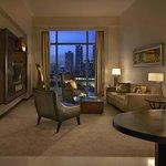 Gold Corner Suite Living Room