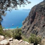 Butterfly Valley seen from George House
