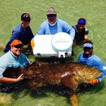350lb Goliath with Captain Jesse and the help of Deckgear cooler seat. Thanks Mark. I put a hurt