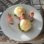 Eggs Benedict@breakfast.