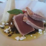 Seared Tuna Dish -- culinary genius!!