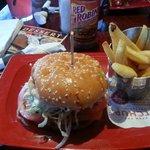 Whiskey Bbq Burger!