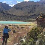 Lake of Keushu, right down the lodge