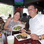 Salad and Ribs