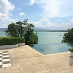 View from Breeze at Cape Yamu and their infinity pool
