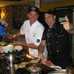 Famous Toronto Italian Restaurant, Posticino, provided the pasta bar and much more of Italian Cu